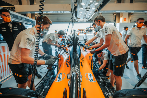 McLaren: The challenges of building the MCL35M