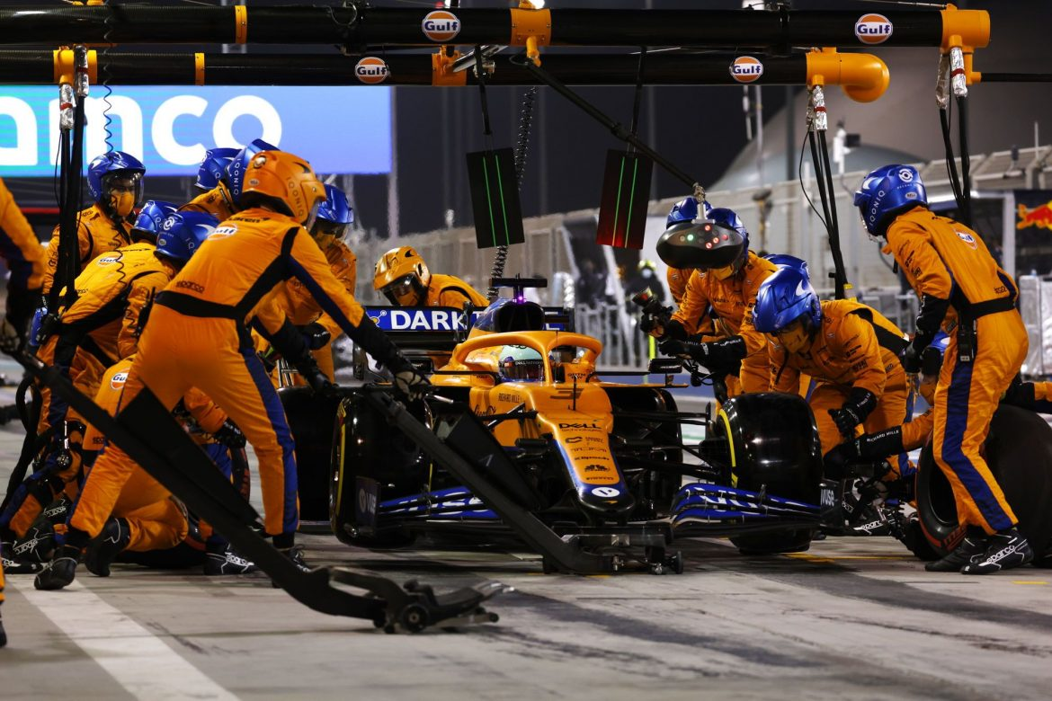 Collision with Gasly the cause of Daniel Ricciardo's lack of speed