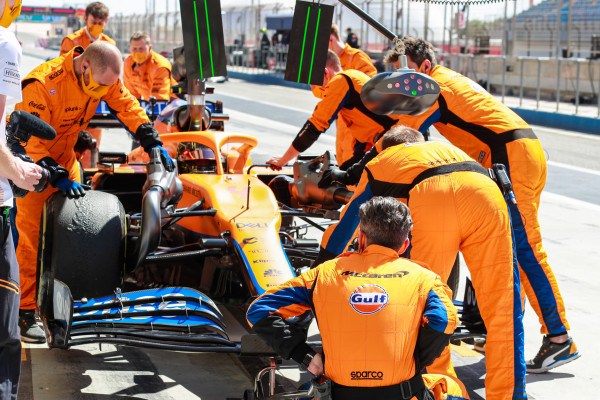 McLaren ready to hit the track for F1 season opener