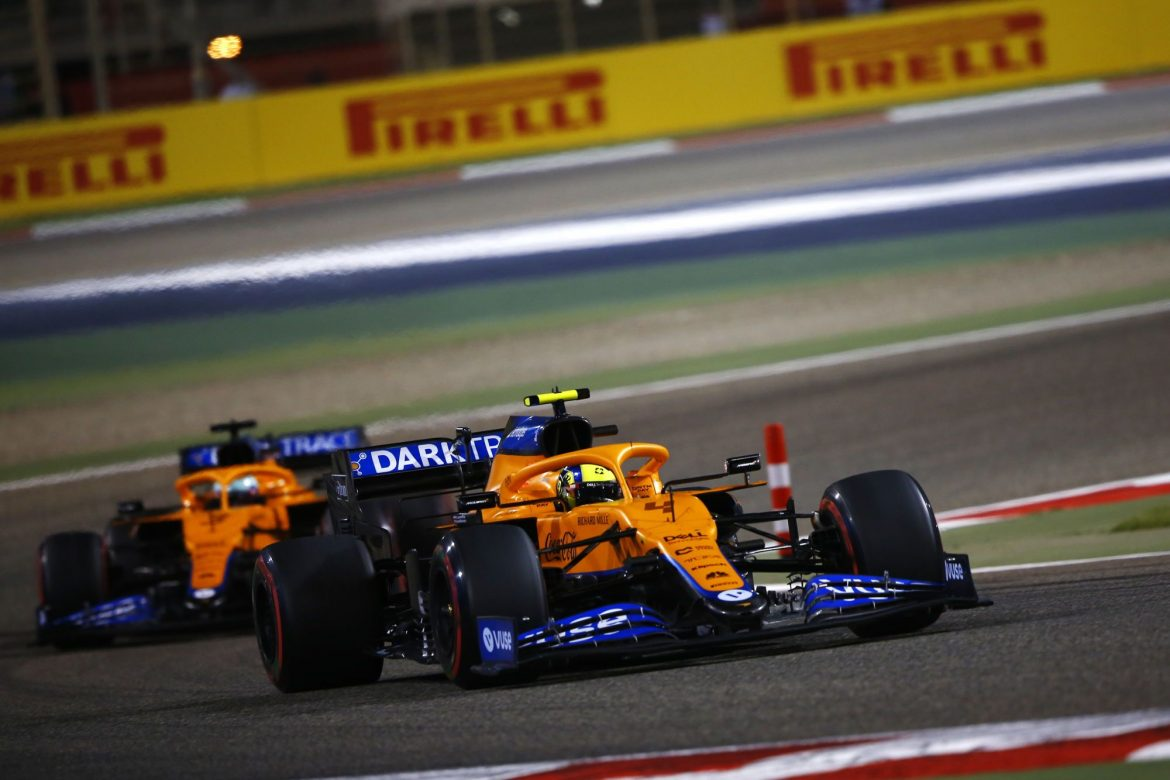 McLaren closing the gap to Mercedes and Red Bull