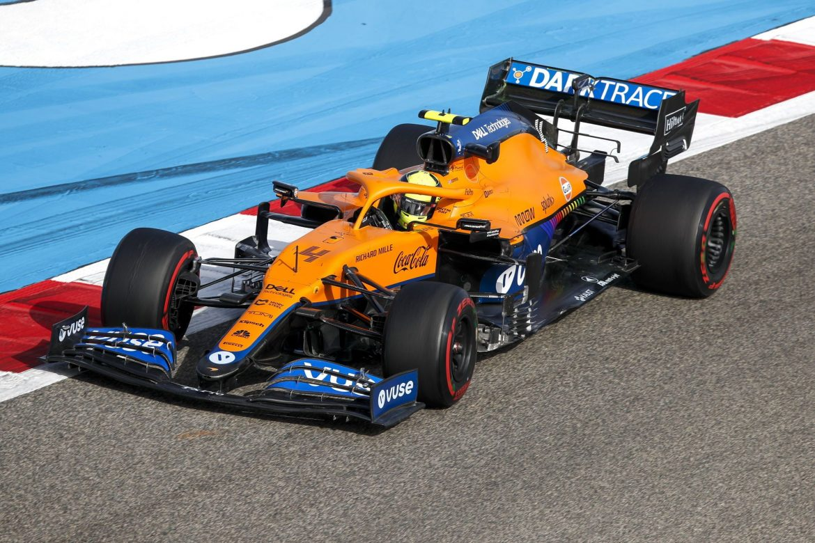 Lando Norris adjusts driving style to better suit MCL35M