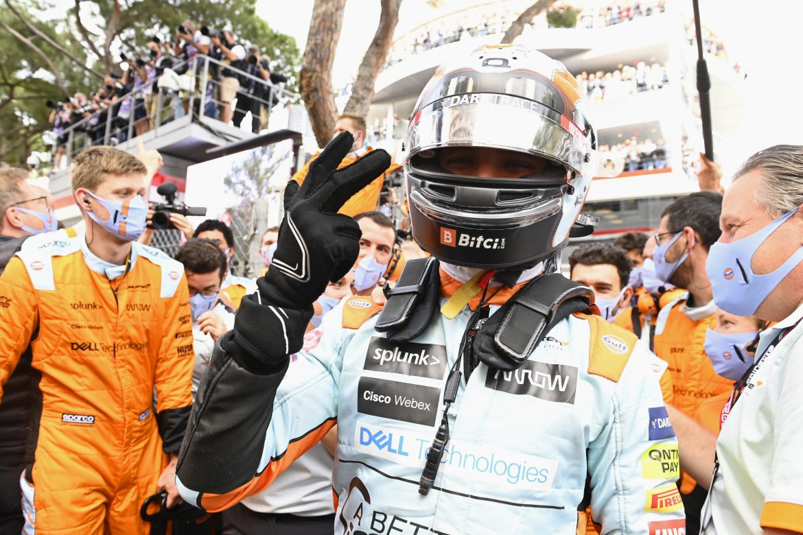 Lando Norris is on his way to 'take McLaren to the top'