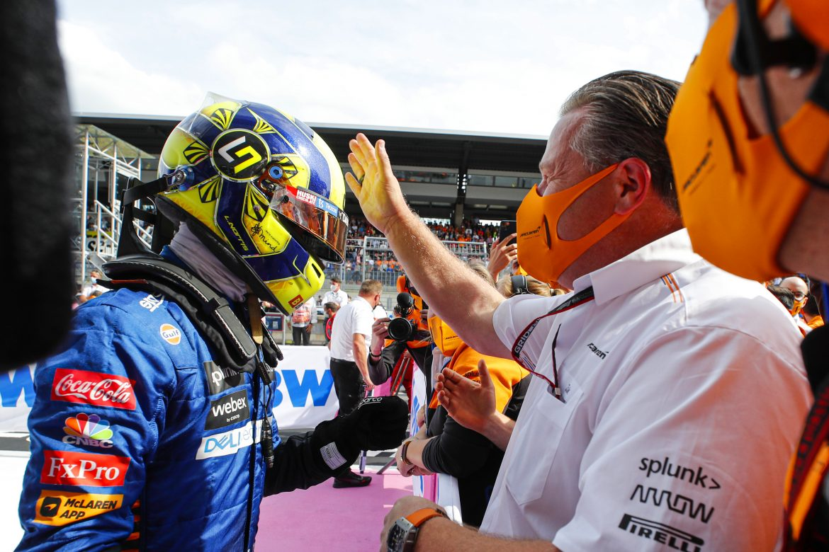 Lando Norris: Support and criticism have helped mould McLaren driver
