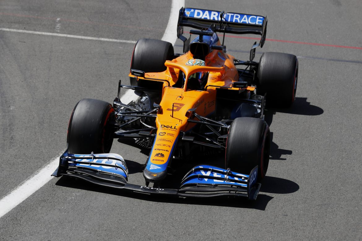 McLaren: Improving 'aerodynamic efficiency' the focus point for MCL35M
