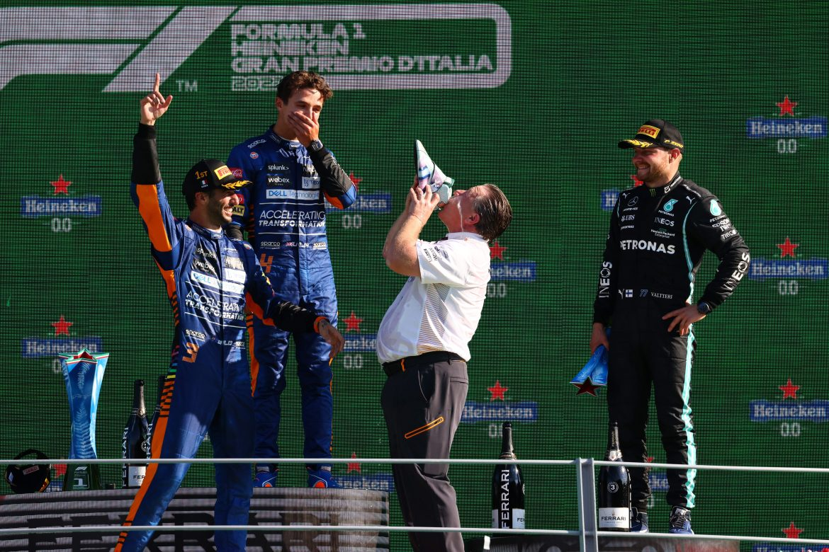 """Zak Brown: It's been a """"tough ride"""" for McLaren personnel and fans"""