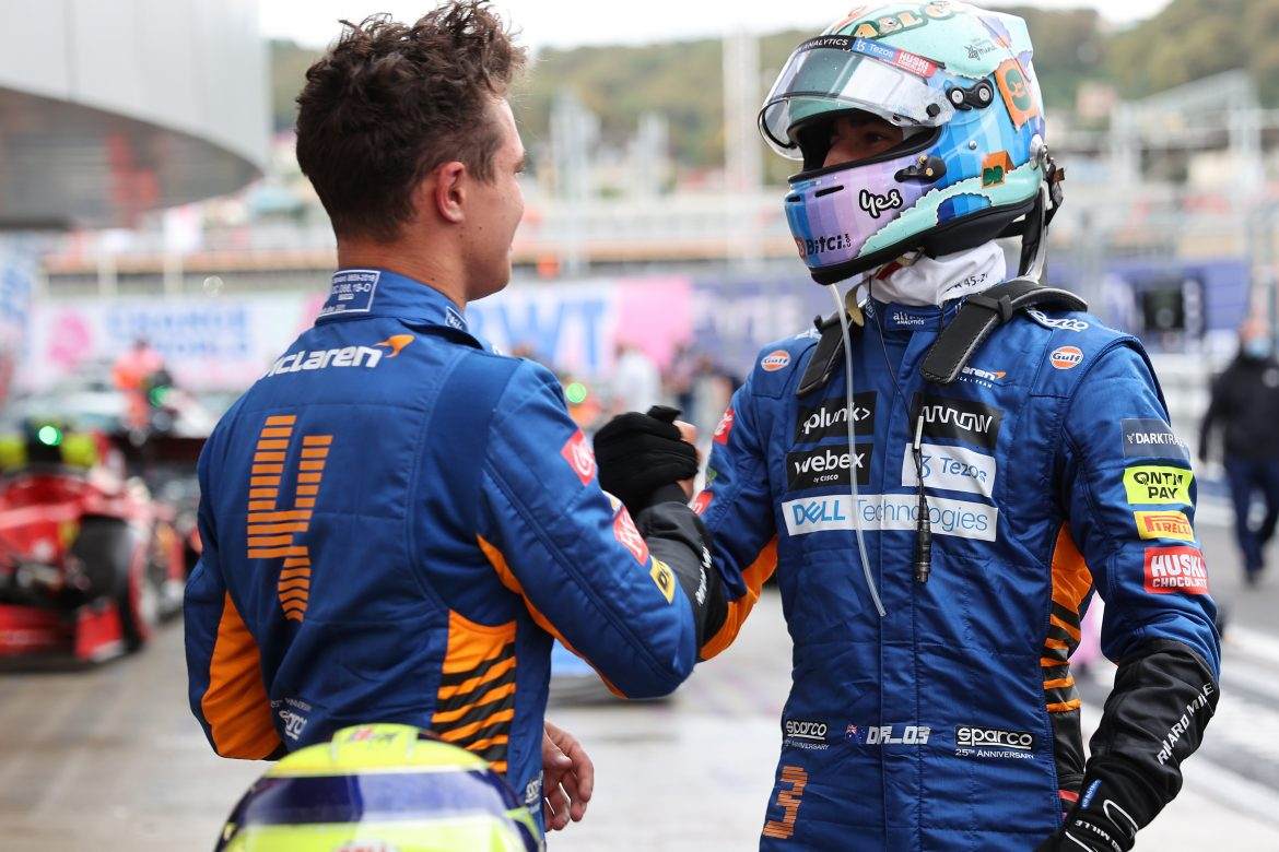 Russian GP: McLaren continue run of good form with Norris pole position