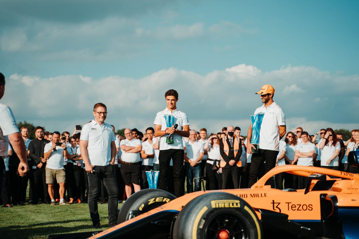 Andreas Seidl: McLaren getting the 'ingredients' in place to compete in F1